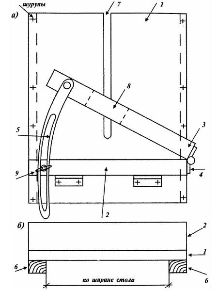 Циркулярный стол своими руками чертеж 551